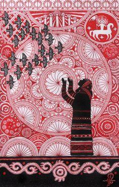 "#slavic_gods , #mythology , #slavic_myths  ""The Spring 2015"" http://vesemir.blogspot.ru/2015/03/2015.html"
