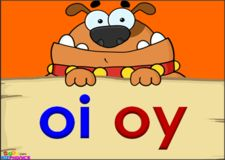 Diphthongs 'oi' and 'oy' , Video « KizPhonics Phonics Videos, Phonics Song, Phonics Words, Jolly Phonics, Teaching Phonics, Teaching Language Arts, Phonics Activities, First Grade Phonics, First Grade Reading