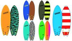 "Odysea Skipper Fish 6""0"" Soft Surfboard SKIPPERFISH6"