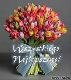 Flowers and best wishes to you! - # you # for # flowers .- Kwiaty i najlepsze życzenia dla Ciebie! – Flowers and best wishes to you! Beautiful Butterflies, Amazing Flowers, Fb Quote, Exotic Flowers, Ikebana, Smiley, Special Day, Red Roses, Cool Pictures