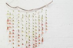 waiting for saturday : carnation garland by Lisa Przystup, James's Daughter