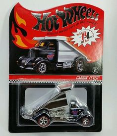 Hot Wheels Cabbin Fever Chrome RLC Real Riders
