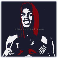 Muhammad Ali Reproduction Pop Art Painting IV. by BlueSurfArt on Etsy