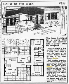 House of the Week V336 | Flickr - Photo Sharing! 3 Bed, 1 Bath