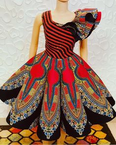 Akinduro Oluwatosin likes, 9 comments - You gotta have style. It helps you get down the stairs,It helps you get up in the morning, it's a way of life. African Dresses For Kids, Latest African Fashion Dresses, African Print Dresses, African Print Fashion, African Attire, African Wear, African Dashiki Dress, Ankara Blouse, Ankara Tops