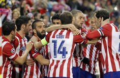 4-1: El Atleti pasa a cuartos goleando al Milan con un Diego Costa estelar #AtleticodeMadrid #DiegoCosta