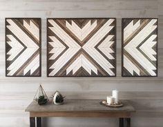Wood wall art wood wall decor living room decor modern wall