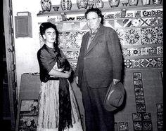 Fotografía de Frida Kahlo por Leo Matiz, alrededor de 1946, Frida y Diego Rivera, Vintage 1993 libro página placa, listo para marco