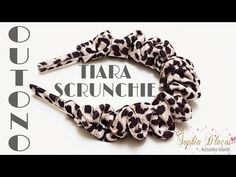 TIARA SCRUNCHIE - YouTube Sewing Headbands, Fabric Headbands, Baby Girl Hair Accessories, Wedding Hair Accessories, Diy Hair Scrunchies, Hair Bows, Tiara Diy, Diy Hair Bun, Daisy Headband