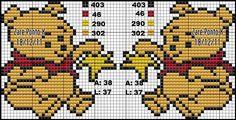 Polly Pocket, Lilo E Stitch, Hello Kitty, Disney Cross Stitch Patterns, Cross Stitch Baby, Hama Beads, Cartoon Characters, Pixel Art, Bowser