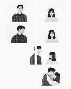 You and me (pic jointer) Korean Couple Photoshoot, Pre Wedding Photoshoot, Wedding Poses, Couple Shoot, Studio Family Portraits, Couple Portraits, Korean Wedding Photography, Couple Photography, Ulzzang Couple