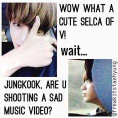 Dramatic as always | BTS - Vkook
