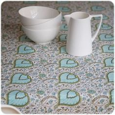 Bungalow - BLOCK-PRINT TEXTILES - tablecloth small