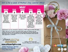 Mother's Day 2016 Specials