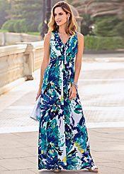 Together Floral Maxi Dress