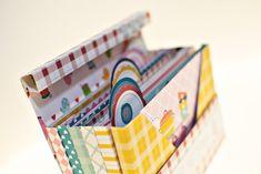 Anita y su mundo Scrapbooking Mini Scrapbook Albums, Diy Scrapbook, Mini Albums, Tutorial Scrapbook, Diy Paper, Paper Crafts, Ideas Aniversario, Creative Box, Journal Paper