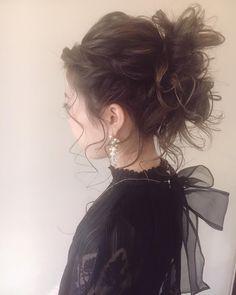WEDDINGHAIR ウェディングヘアメイク❤おだんごのようなポニーテールのような。 #sakinchohair #hairarrange#hair#arrange#hairset#ヘアアレンジ#アレンジ#ヘアセット#豊橋#美容室#ルプラガーデン#さきんちょアレンジ #weddinghair #hairstyles #bridalhair #hairarrange #ponytail updo #hairdo #ウェディング #ヘアスタイル #ヘアアレンジ #ポニーテール #おくれ毛
