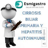 Caso clínico, Cirrosis biliar primaria y hepatitis autoinmune.