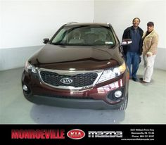 We are so pleased with the way everything went with our vehicle purchase. Our salesman, Josh Pagliei, was a great help, if you are looking for a new or pre-owned vehicle please make sure you ask for him, he was a big help..... - Lesa/Clyde Mitchell  Tuesday, March 05, 2013