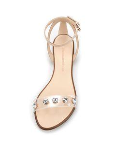 JEWEL VAMP - Woman - Shoes - ZARA United States $69.90 Beautiful Summer Sandals!