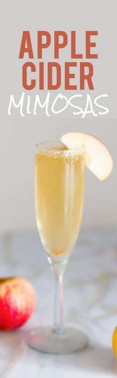 Non Alcoholic Apple Cider Mimosa Recipe Brunch Recipes And Beverage