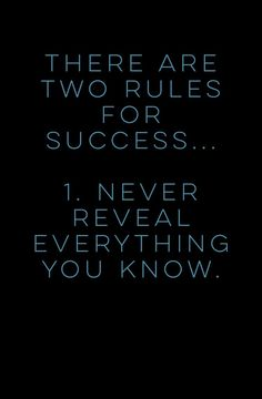 #Quotes #Rules #Success #Reveal