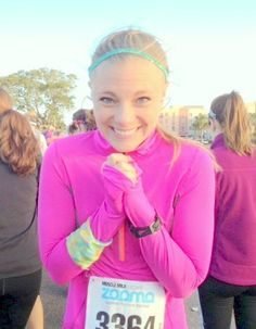 This gal has a great health and running blog. Workout tips, playlists, recipes, etc. pbfingers.com