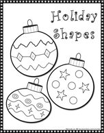 printable ornament shapes | Winter • Season • Holiday | Printables • Recipes| kids music ...