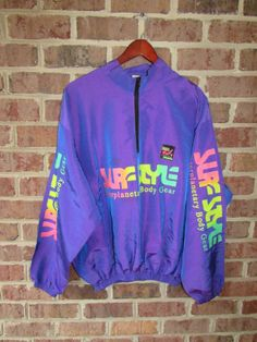 Vintage 90's Surf Style Surf Gear Color Change Windbreaker by RackRaidersVintage on Etsy, $25.00