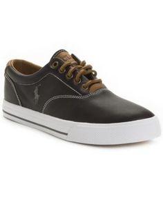 d9c199d3c9ecba POLO RALPH LAUREN Polo Ralph Lauren Vaughn Leather Sneakers.   poloralphlauren  shoes   all