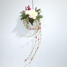 餅花松飾り-牡丹 - festoon * 造花とは思えない上質な花でブーケ、アレンジメント、花束をご希望に合わせてお作りします。