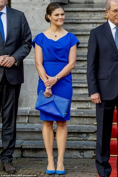 Crown Princess Victoria of Sweden attended a ceremony to mark the 20th anniversary of the organisation for the prohibition of chemical weapons at The Hague