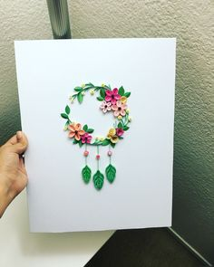 Quilling by Vibhuti Quilling Flowers Tutorial, Paper Quilling Flowers, Paper Quilling Cards, Paper Quilling Patterns, Quilled Paper Art, Paper Quilling Earrings, Origami And Quilling, Quilling Paper Craft, Paper Crafts Origami