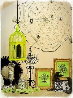 Halloween Mantel - House of 3