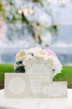 Sweetgrass Social wedding at Magnolia Plantation. Abigael & Oliver. Wedding invitations and pink and white floral.