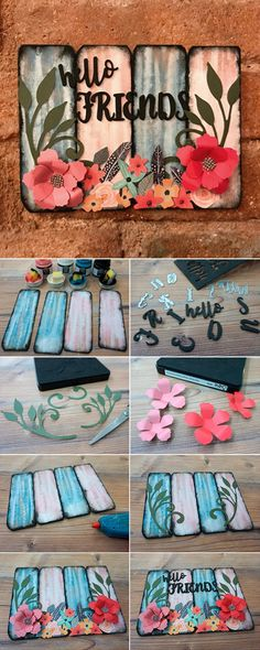 The perfect handmade craft you can easily create at home to elevate your home decor. Discover how to make it in this easy to follow Sizzix craft tutorial. Appear on our boards with #mymakingstory - #handmadecrafts #DIYcrafts #crafting #papercrafts #homedecor #makersgonnamake #DIYproject #sizzix