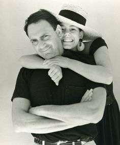 """Joe Ruggiero & Daughter. Just a black """"T"""" shirt. <3  The way his daughter is hugging him says a lot about Joe!"""