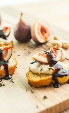 Fig & Cashew Cheese Canapé