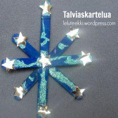 Talviaskartelua  http://leluteekki.wordpress.com