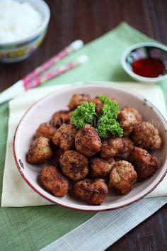 Juicy fried meat balls | rasamalaysia.com