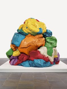 Jeff Koons, Play-Doh (1994–2014). © Jeff Koons.