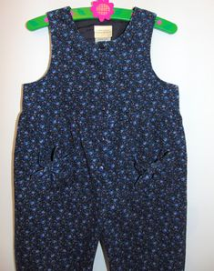 ceab86b36ac3 Laura Ashley Vintage Mother & Child Needlecord Playsuit Jumpsuit Dungarees,  Size 4 Yrs