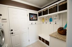 Awesome job on a small laundry room/mud room!  I am inspired!!!!!!