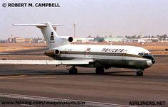 Boeing 727 ,Mexicana de Aviacion, 70 y 80'S