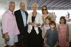 Remy Bond Olivia Bond Photos - Damian, Olivia, Remy, Rebecca and Jon Bond pose with Veronica Kelly (C) and Ray Kelly (2nd L) at DuJour Magazine's Haley and Jason Binn 15th Annual Hamptons Summer Kick-Off by Richie Notar and GILT at Harlow East on May 26, 2014 in Sag Harbor, New York. - DuJour Magazine's Haley And Jason Binn 15th Annual Hamptons Summer Kick-Off By Richie Notar And GILT