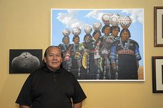 Indigenous Visions at the Heard Museum Shops- Bill Dixon (Navajo)