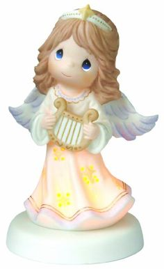 "$40.00-$40.00 Precious Moments ""Angels Light The Way""; long have angels been reminders of faith while providing comfort and reassurance."