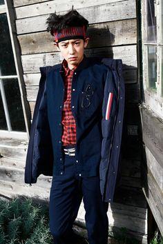 Chanyeol - EXO, Collaboration with 'Tommy Hilfiger' Baekhyun, Park Chanyeol Exo, Rapper, Kim Minseok, Exo Korean, Tommy Boy, Bts And Exo, Kpop, Exo Members