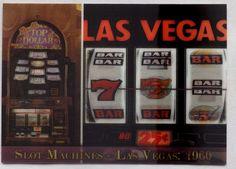Las Vegas Lot 25 Slot Machines 3D Lenticular Postcards 1960 and 2011