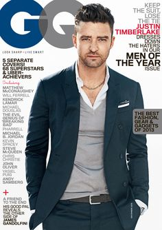 Justin Timberlake, 2013 GQ Man of the Year  ~ Isn't he smoking hot in this picture or is it just me...